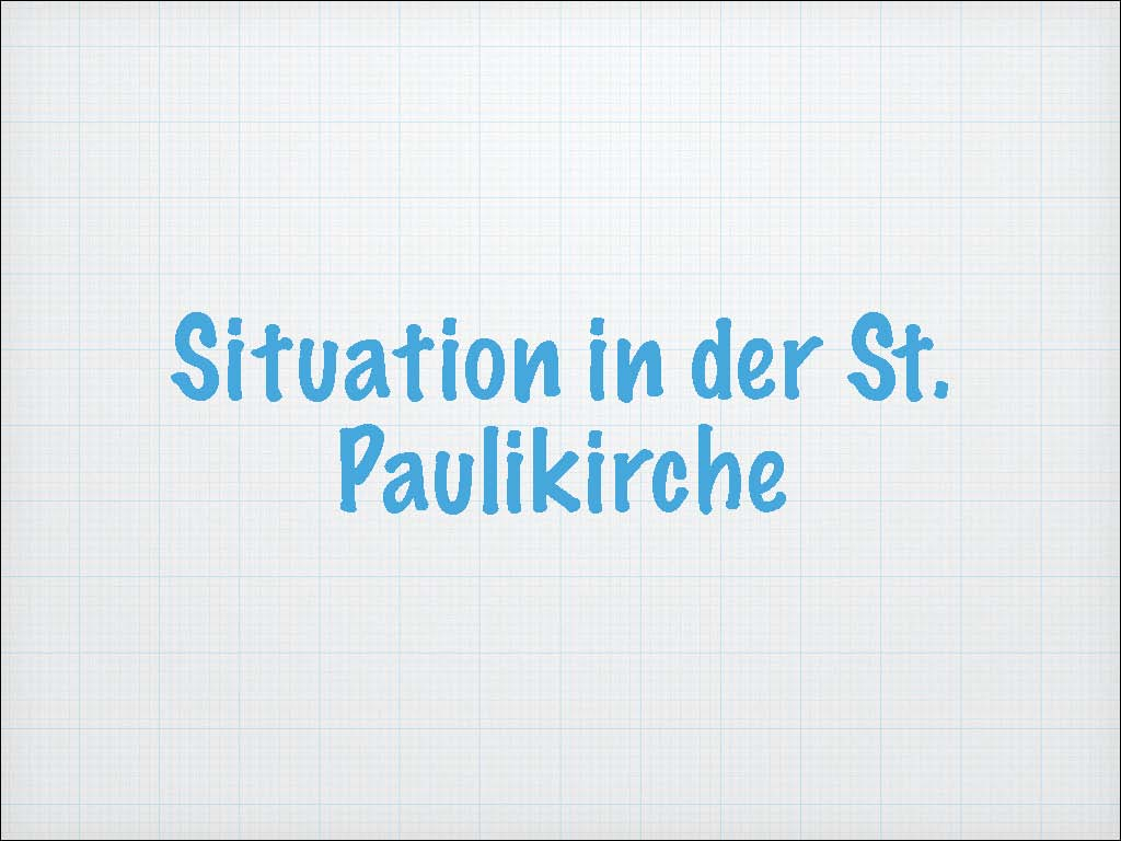 Situation in der St.Paulikirche