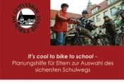 It`s cool to bike to school