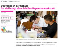 Upcycling in der Schule